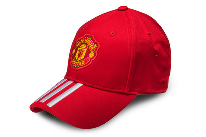 adidas Manchester United 3 Stripe Football Cap