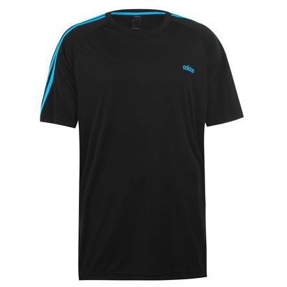3 Stripe Sereno T Shirt Mens