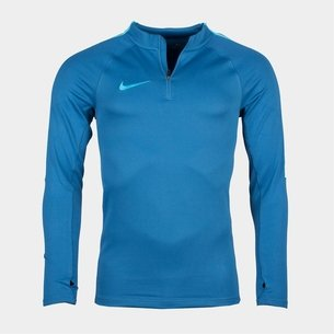 Nike Squad 1/4 Zip L/S Midlayer Football Training Top