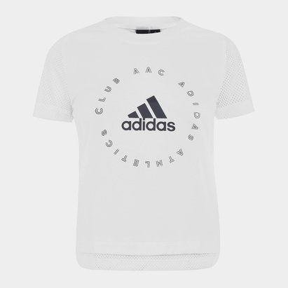 adidas Athletics Club T Shirt Ladies