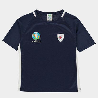 UEFA Euro 2020 England Poly T Shirt Juniors