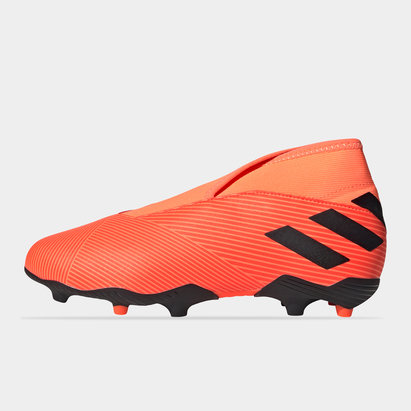 adidas Nemeziz 19.3 Childrens Laceless FG Football Boots