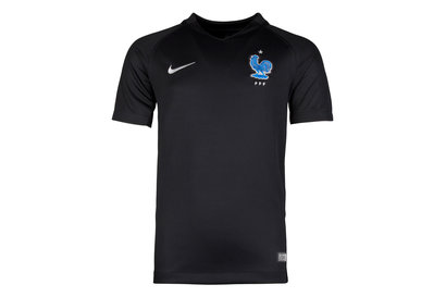 Nike France 17/18 Kids 3rd Stadium S/S Football Shirt