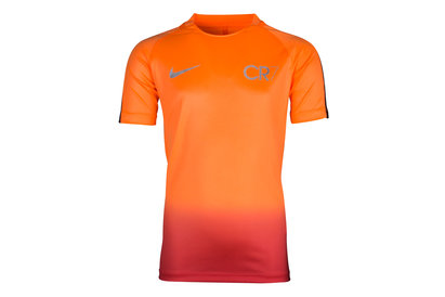 Nike CR7 Dry Squad Kids S/S Football T-Shirt