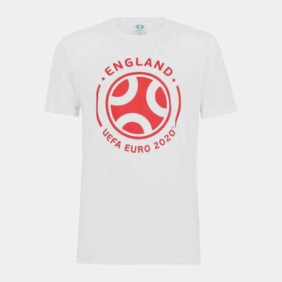 UEFA Euro 2020 England Graphic T-Shirt Mens