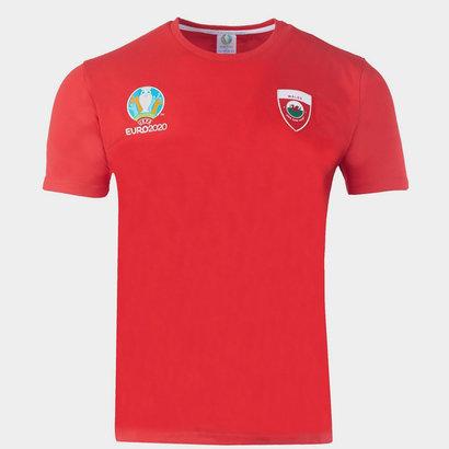 UEFA Euro 2020 Wales T Shirt Mens