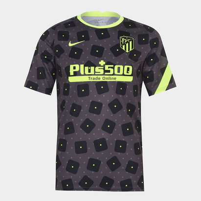 Nike Atletico Madrid European Pre Match Shirt 20/21 Mens
