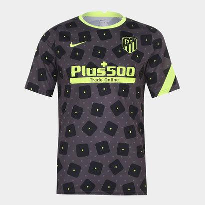 Nike Atletico Madrid European Pre Match Shirt 20/21 Mens