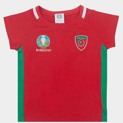 UEFA Euro 2020 Portugal Core T Shirt Infants