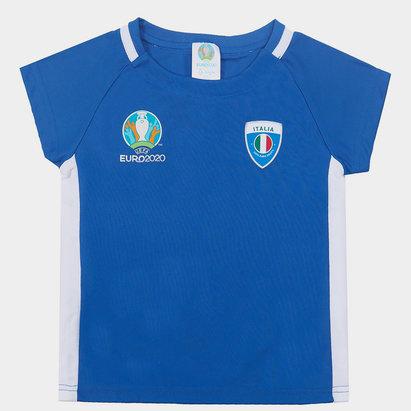 UEFA Euro 2020 Italy Core T Shirt Infants