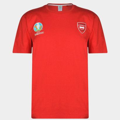 UEFA Euro 2020 Austria Core T Shirt Mens