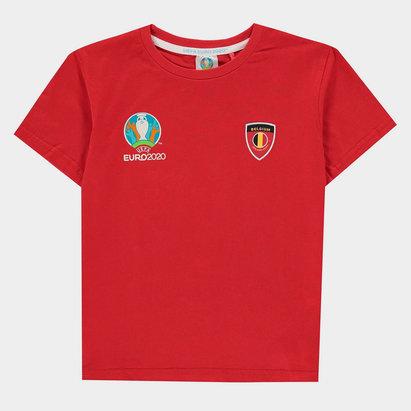 UEFA Euro 2020 Belgium Core Tee Juniors