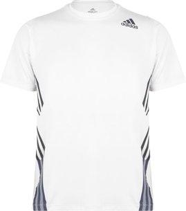 adidas Freelift 3 Stripe T Shirt Mens