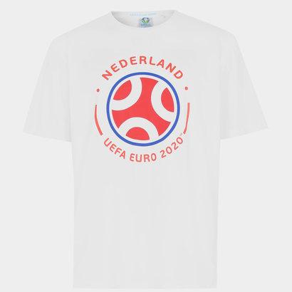 UEFA Euro 2020 Holland Graphic T-Shirt Mens
