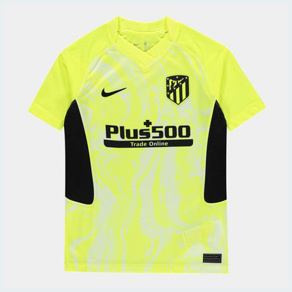 Nike Atletico Madrid Third Shirt 20/21 Kids