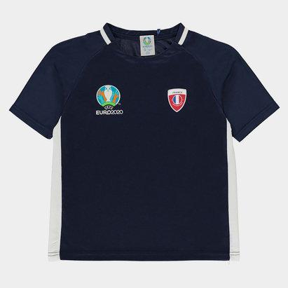 UEFA Euro 2020 France Poly Tee Juniors