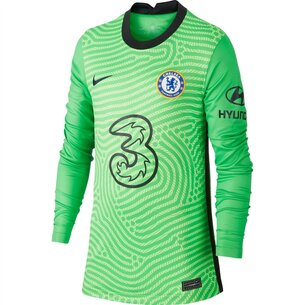 Nike Chelsea Home Goalkeeper Shirt 20/21 Kids