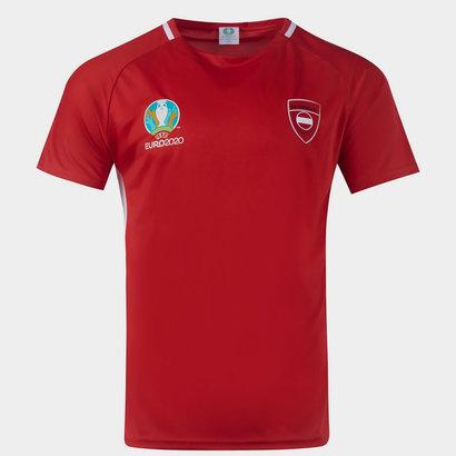 UEFA Euro 2020 Austria Poly T Shirt
