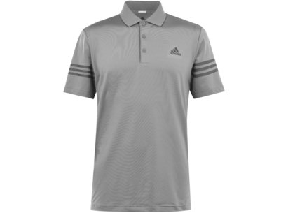 adidas Block Polo Shirt Mens