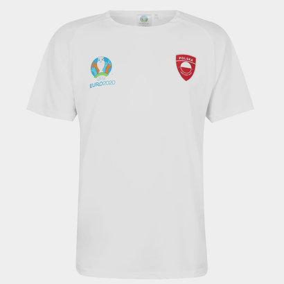 UEFA Euro 2020 Poland Poly T Shirt