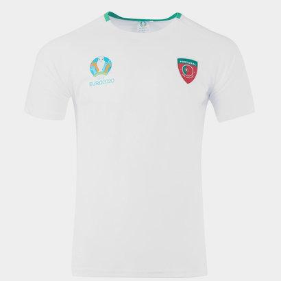 UEFA Euro 2020 Portugal T Shirt Mens