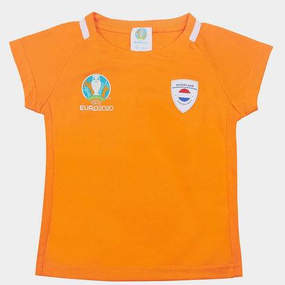 UEFA Euro 2020 Holland Core T Shirt Infant Boys