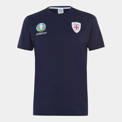 UEFA Euro 2020 England Core T Shirt Mens