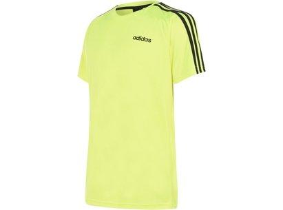 adidas 3 Stripe Sereno T Shirt Mens