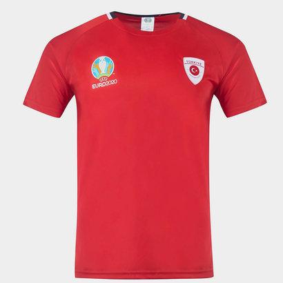 UEFA Euro 2020 Turkey Poly T Shirt