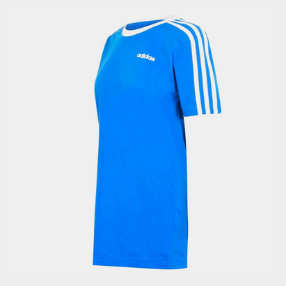 adidas Womens Essentials 3 Stripes T Shirt