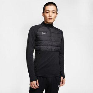 Nike Academy Winter Warrior Drill Top Mens