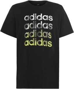 adidas Linear Repeat Mens T Shirt