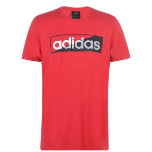 adidas Linear Rip Mens T shirt
