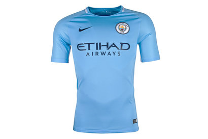 Nike Manchester City 17/18 Home Replica S/S Football Shirt
