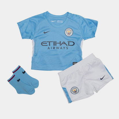 Nike Manchester City 17/18 Infants Home Football Kit