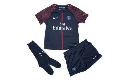 Nike Paris Saint-Germain 17/18 Infants Home Football Kit