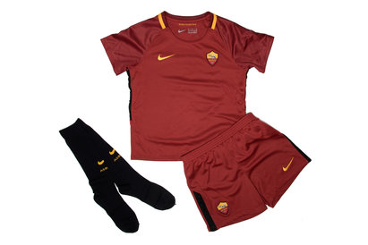 Nike AS Roma 17/18 Little Kids Home Football Kit