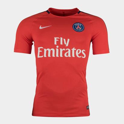 Nike Paris Saint-Germain 17/18 Squad Football Training T-Shirt