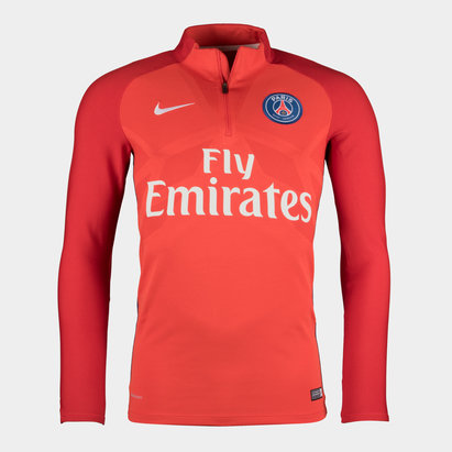 Nike Paris Saint-Germain 17/18 Aeroswift Strike Football Drill Top