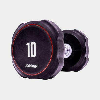 Jordan 10kg Ignite V2 Urethane Dumbbells (pair)