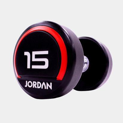 Jordan 15kg Premium Urethane Dumbbells (pair)