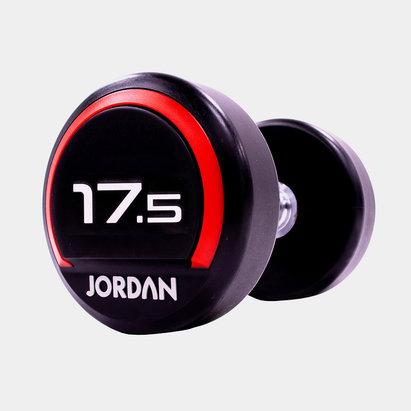 Jordan 17.5kg Premium Urethane Dumbbells (pair)
