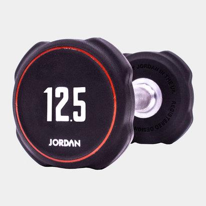 Jordan 12.5kg Ignite V2 Urethane Dumbbells (pair)