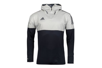 adidas Tango Football Hybrid Hooded Training Top