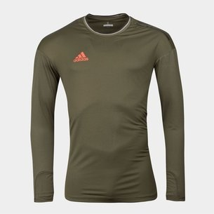adidas Tango Poly L/S Football T-Shirt