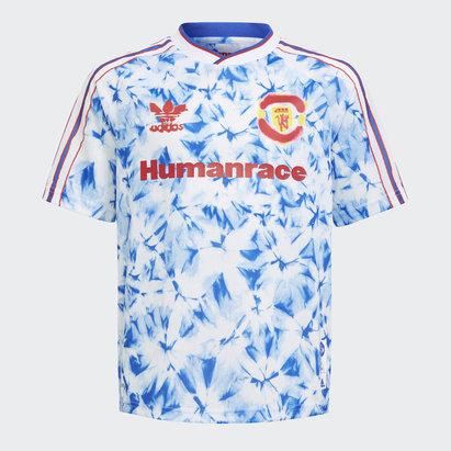 adidas Manchester United Humanrace FC Shirt Junior