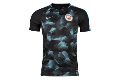 Nike Manchester City FC 17/18 Squad Football Shirt