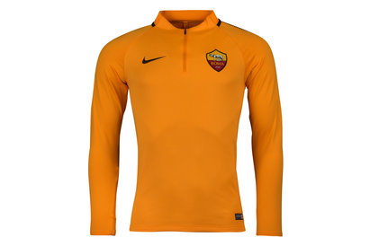 Nike AS Roma 17/18 Squad Football Training Drill Top