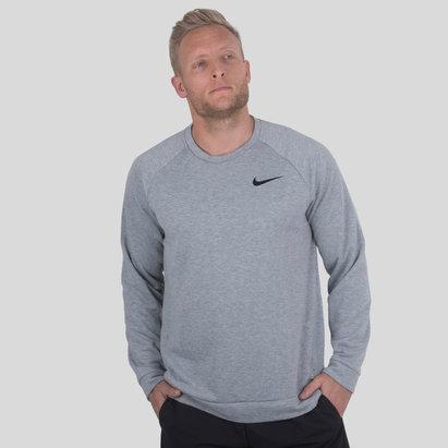 Nike Dry Crew Neck Fleece Training Sweater