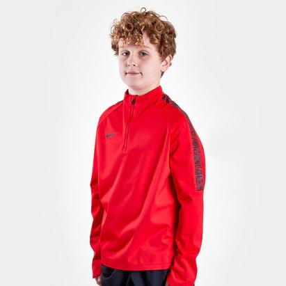 Nike Shield Squad Kids Football Drill Top